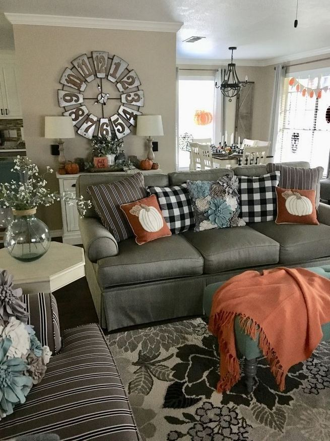 21 Warm And Cozy Farmhouse Style Living Room Decor Ideas 10