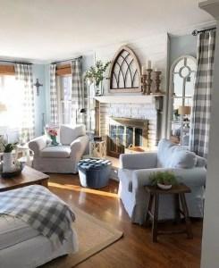 21 Warm And Cozy Farmhouse Style Living Room Decor Ideas 29