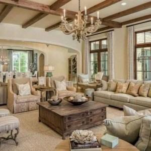 21 Warm And Cozy Farmhouse Style Living Room Decor Ideas 32