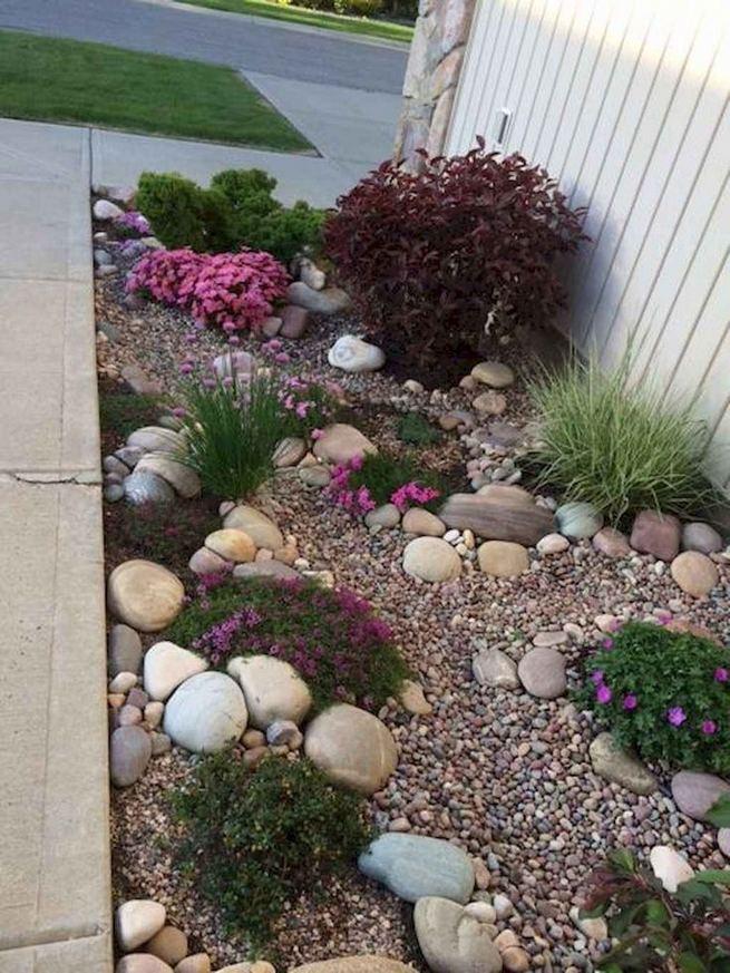 12 Best Ideas For Front Yard Rock Garden 23