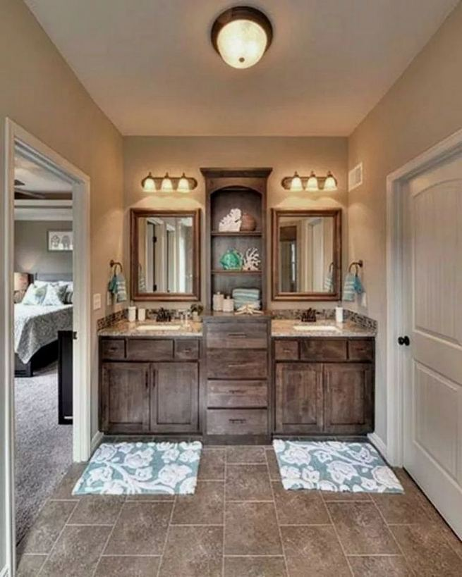 14 Beautiful Master Bathroom Remodel Ideas 15