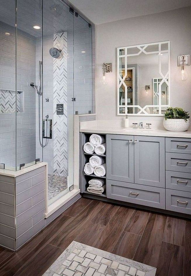 14 Beautiful Master Bathroom Remodel Ideas 17