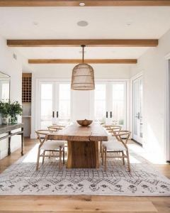 14 Incredible Rustic Dining Room Table Decor Ideas 21