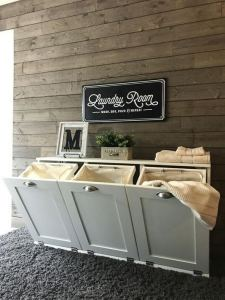 16 Brilliant Small Functional Laundry Room Decoration Ideas 02