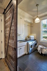 16 Brilliant Small Functional Laundry Room Decoration Ideas 09