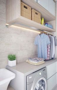 16 Brilliant Small Functional Laundry Room Decoration Ideas 21