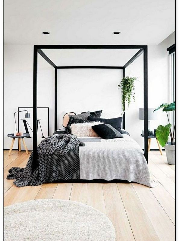 16+ Minimalist Master Bedroom Design Trends Ideas - lmolnar