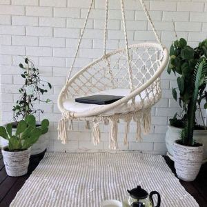 18 Adorable Hanging Chairs Ideas For Indoors And Outdoors 20