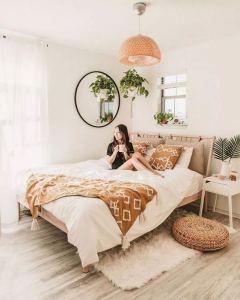 19 Creative DIY Bohemian Bedroom Decor Ideas 19
