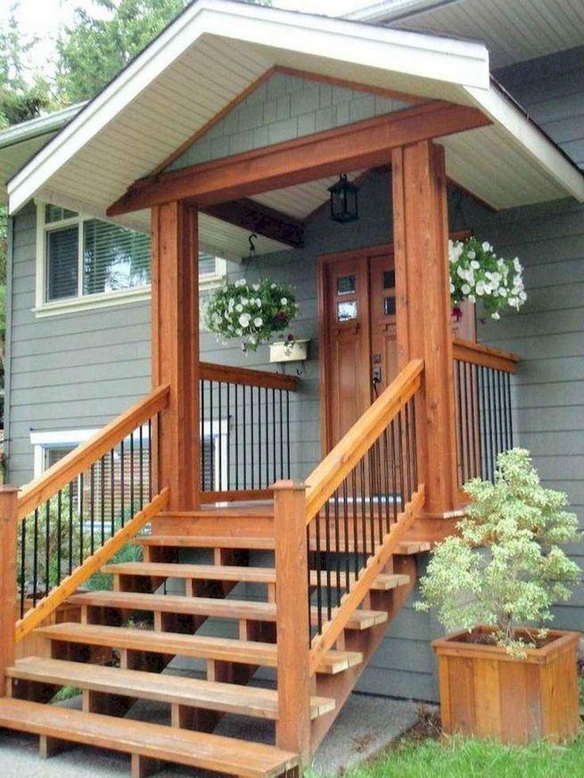 21 Stunning Farmhouse Front Porch Decor Ideas 01