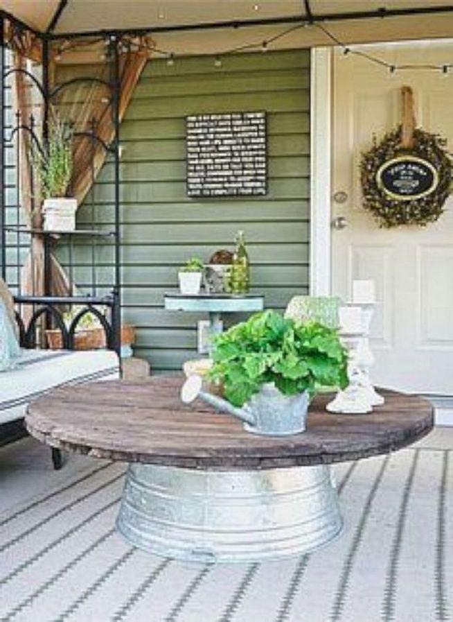 21 Stunning Farmhouse Front Porch Decor Ideas 09