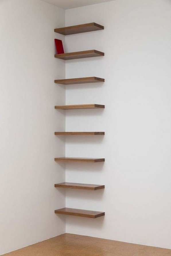 15 Amazing Corner Shelves Ideas 11