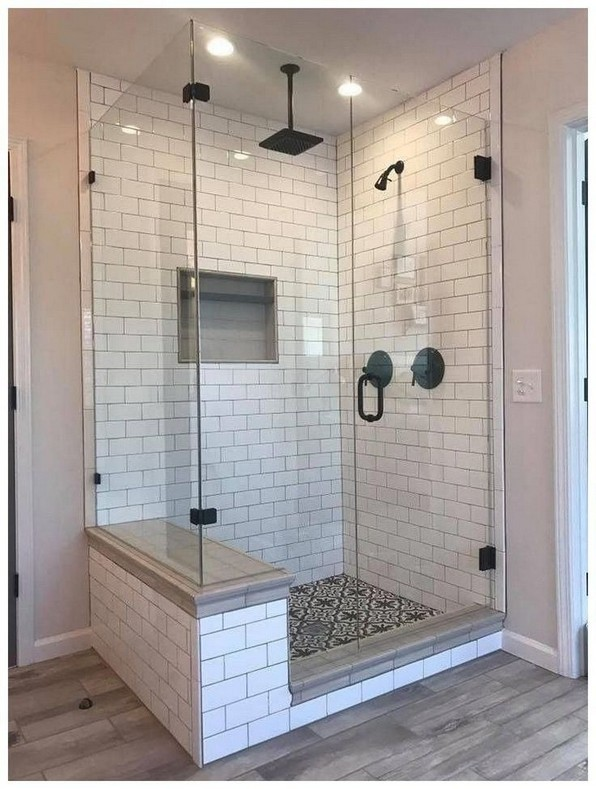 15 Beautiful Walk In Shower Ideas For Small Bathrooms 08