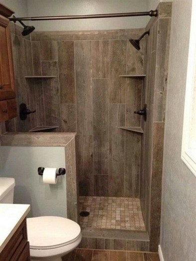 15 Beautiful Walk In Shower Ideas For Small Bathrooms 12