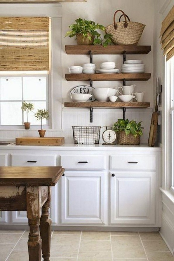 15 Farmhouse Kitchen Ideas On A Budget 07