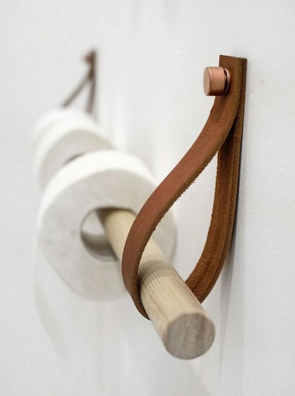 15 Models Bathroom Shelf With Industrial Farmhouse Towel Bar 06