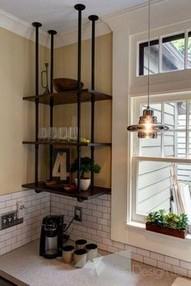 15 Models Bathroom Shelf With Industrial Farmhouse Towel Bar 25