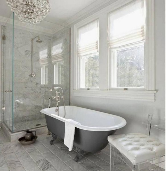 15 Pleasurable Master Bathroom Ideas 19