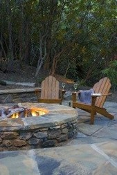 16 Awesome Winter Patio Decorating Ideas With Fire Pit 15