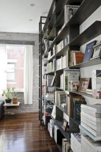 16 Fantastic Floor To Ceiling Bookshelves With Ladder 01