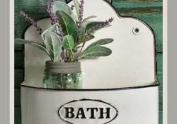 16 Kinds Of Farmhouse Bathroom Accessories Ideas 06