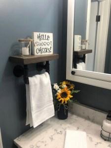 16 Models Bathroom Shelf With Industrial Farmhouse Towel Bar – Tips For Buying It 03 1