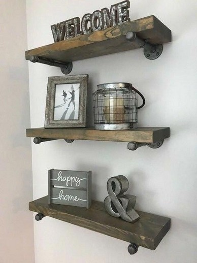 16 Models Bathroom Shelf With Industrial Farmhouse Towel Bar – Tips For Buying It 18