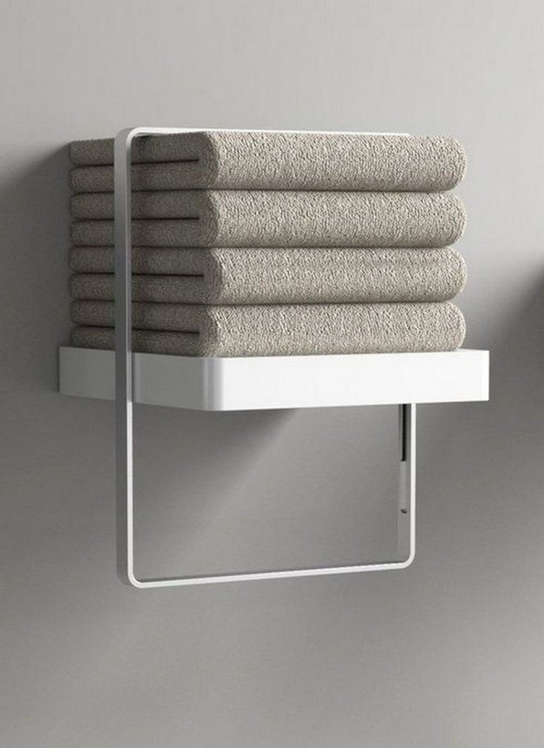 16 Models Bathroom Shelf With Industrial Farmhouse Towel Bar – Tips For Buying It 25