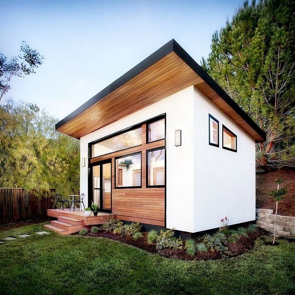 16 Modern Shed Design Looks Luxury To Complement Your Home 15
