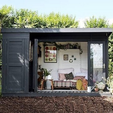 16 Modern Shed Design Looks Luxury To Complement Your Home 20