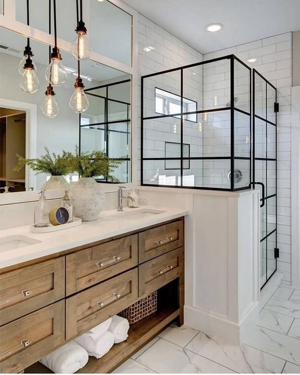 17 Best Of Modern Farmhouse Bathroom Vanity Decoration Ideas 04