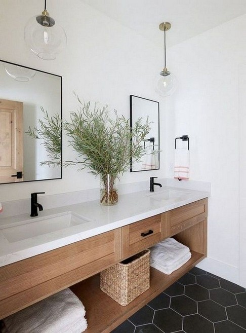 17 Best Of Modern Farmhouse Bathroom Vanity Decoration Ideas 07