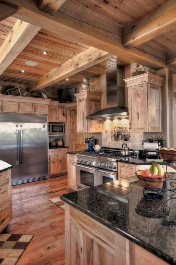 17 Best Rustic Kitchen Design You Have To See It 20