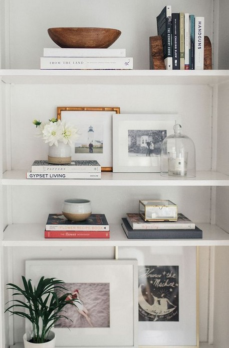 17 Bookshelf Organization Ideas – How To Organize Your Bookshelf 08