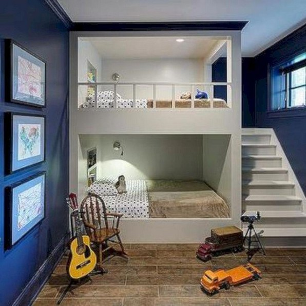 17 Boys Bunk Bed Room Ideas 13