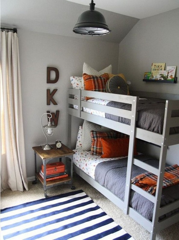 17 Boys Bunk Bed Room Ideas 21