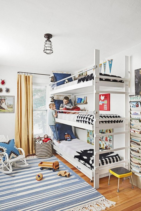 17 Top Picks For A Triple Bunk Bed For Kids Rooms 20