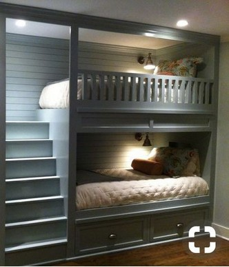 18 BBunk Bed Design Ideas With The Most Enthusiastic Desk In Interest 11