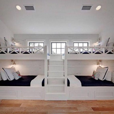 18 BBunk Bed Design Ideas With The Most Enthusiastic Desk In Interest 14