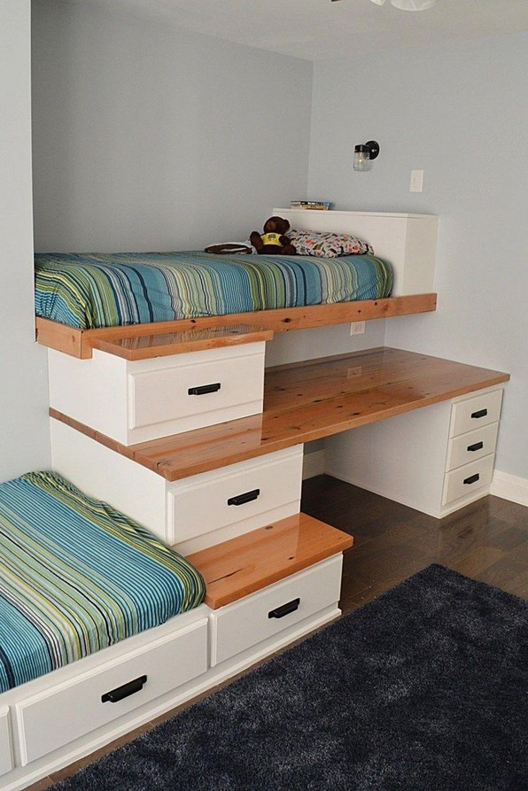 18 Boys Bunk Bed Room Ideas – 4 Important Factors In Choosing A Bunk Bed 11