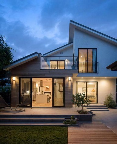 18 Examples Of Amazing Contemporary Flat Roof Design Of A House 10