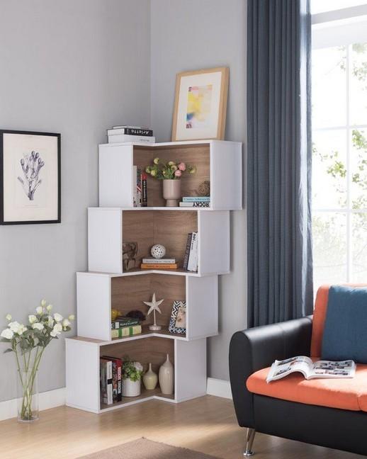 18 Luxury Corner Shelves Ideas 18
