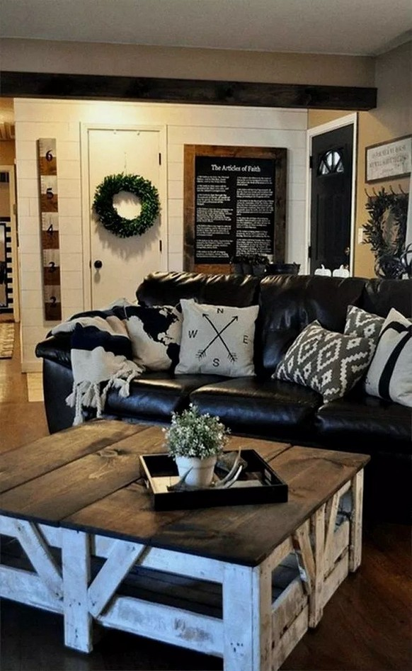 18 Modern Rustic Living Room Furniture 08