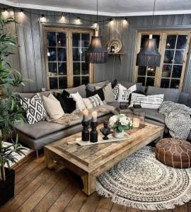 18 Modern Rustic Living Room Furniture 22