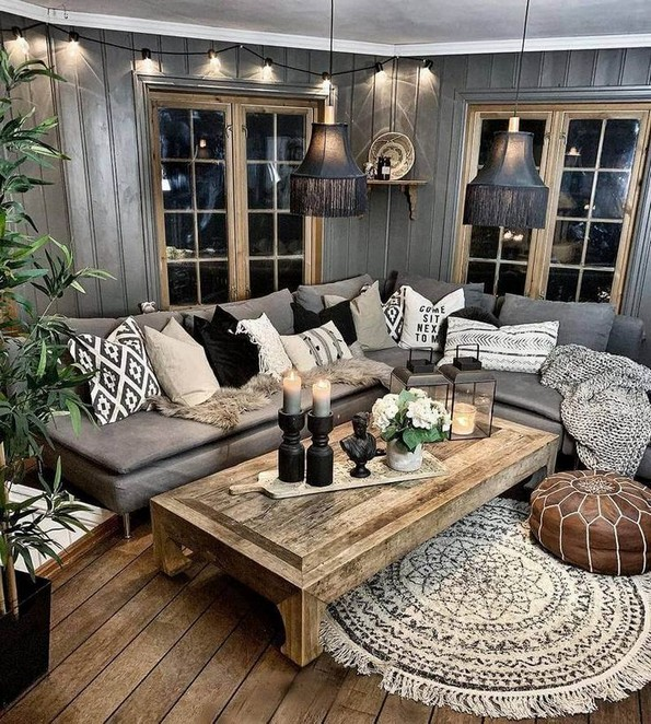18 Modern Rustic Living Room Furniture 22