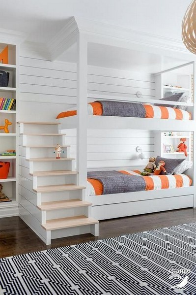 18 Most Popular Kids Bunk Beds Design Ideas 06