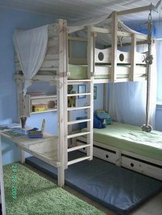 18 Most Popular Kids Bunk Beds Design Ideas 24