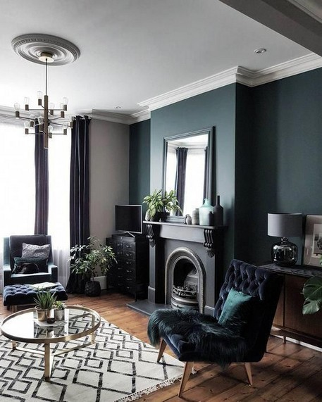 18 Popular Living Room Colors To Inspire Your Apartment Decoration 14