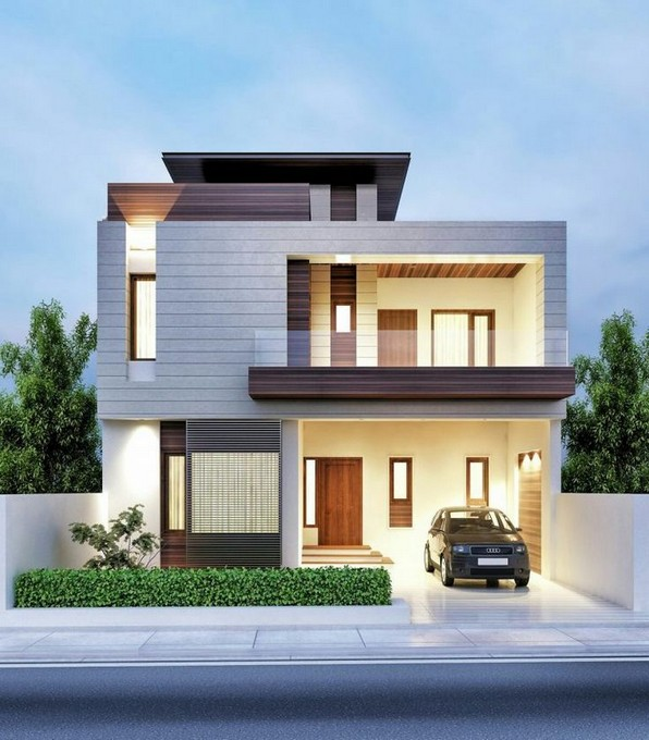 18 Top Choices Beautiful Modern 2 Story House 09