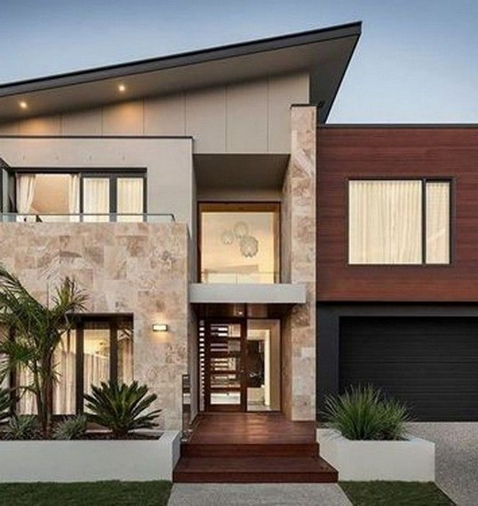 18 Top Choices Beautiful Modern 2 Story House 21